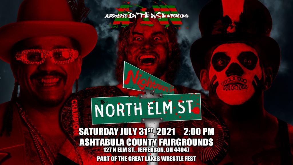 Nightmare On North Elm Street – July 31st, 2021 - Jefferson, OH